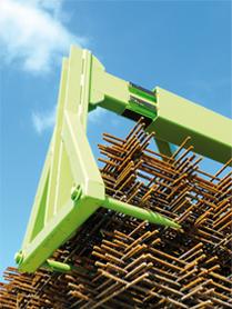 palonnier hydraulique pour treillis